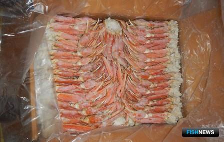 По данным Камчатской таможни, при экспорте рыбопродукции и краба в Южную Корею на счета компании-поставщика не поступило около 480 тыс. долларов выручки. Фото пресс-службы ДВТУ