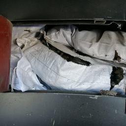 Тайник был оборудован в рейсовом автобусе. Фото пресс-группы Погрануправления ФСБ России по Приморскому краю