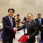 Соглашение между АО «Дальневосточный аукционный рыбный дом» и Хейлунцзянской корпорацией по технико-экономическому сотрудничеству КНР дает старт строительству биржевого комплекса во Владивостоке