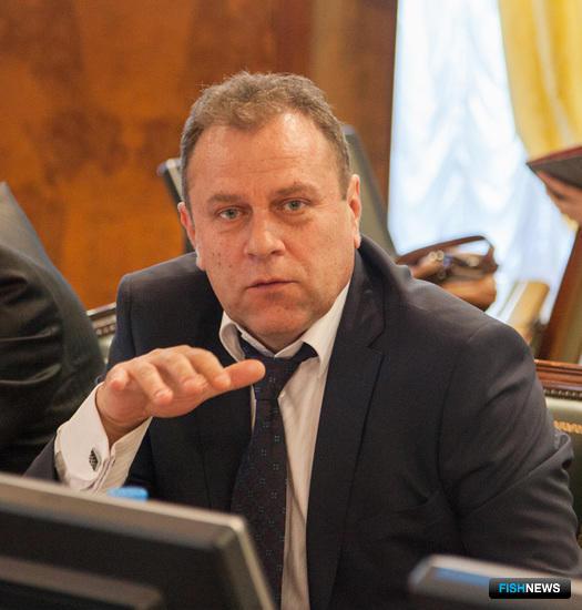 Президент Всероссийской ассоциации рыбохозяйственных предприятий, предпринимателей и экспортеров (ВАРПЭ) Александр ФОМИН