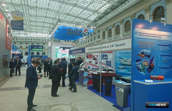 Форум «Морская индустрия России» открылся в Москве 17 мая