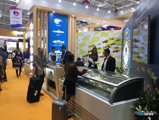 Компания «Дикий Улов», участник российского объединенного стенда на рыбохозяйственной выставке в Циндао China Fisheries and Seafood Expo-2017
