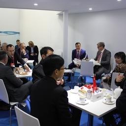 Деловой завтрак для участников и гостей национального стенда РФ на Международной выставке морепродуктов и рыболовства в Циндао