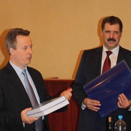 Анатолий Макоедов и Михаил Куманцов
