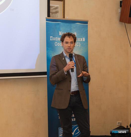 Региональный директор MSC по Европе Камиль ДЕРИКС