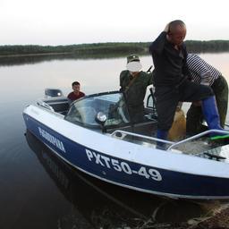 Задержанные на Амуре китайские рыбаки