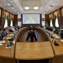 Глава Сахалинской области встретился с рыбаками. Фото пресс-службы правительства Сахалинской области