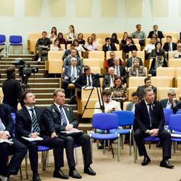 Участники парламентских слушаний в Госдуме