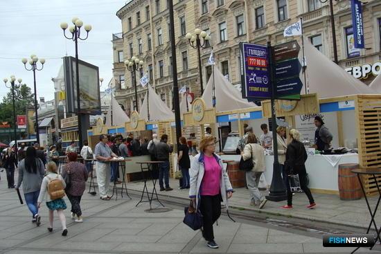 Фестиваль «Рыбная неделя» в Санкт-Петербурге