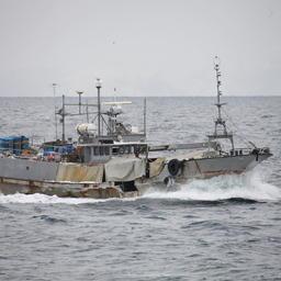 Судно «Миё Мару 21» (оно же Oyster). Фото пресс-службы Погрануправления ФСБ России по Сахалинской области