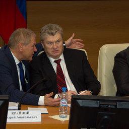 Андрей КРАЙНИЙ, Валерий ЯЗЕВ, Владимир КАШИН