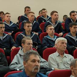 Лекцию слушали студенты и преподаватели. Фото пресс-службы Дальрыбвтуза