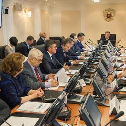 В Комитете Совета Федерации по аграрно-продовольственной политике и природопользованию прошло заседание рабочей группы по мониторингу принятия нормативных актов для реализации закона о рыболовстве