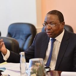 Министр иностранных дел Республики Сенегал Манкер НДЯЙ. Фото пресс-службы ФАР