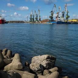 Порт на Курилах. Фото пресс-службы правительства Сахалинской области