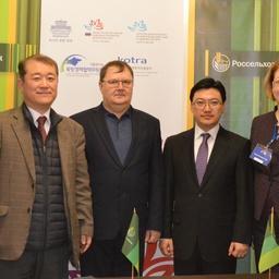 Соглашения заключили АО «ДАРД» и южнокорейские компании Global Business Consulting Group Co., Ltd и FI INTERNATIONAL Co., Ltd