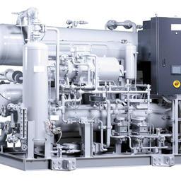 Модульный компрессорный агрегат СО2