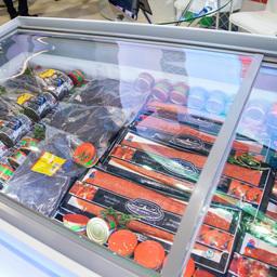 На выставке «Дни Дальнего Востока в Москве» была широко представлена продукция компаний самого рыбного региона