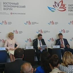 Сессия по вопросам рыбной отрасли в рамках Восточного экономического форума