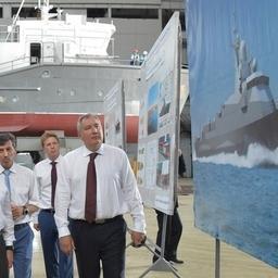 Премьер Дмитрий МЕДВЕДЕВ посетил судостроительный завод «Море». Фото пресс-службы правительства