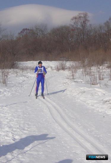 «Бронзовый» финиш преображенского лыжника Владимира КУЗОВЛЕВА