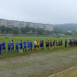 Участники турнира собрались на торжественном построении