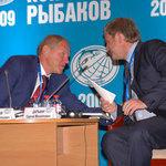 Руководитель Росрыболовства Андрей КРАЙНИЙ и губернатор Приморского края Сергей ДАРЬКИН