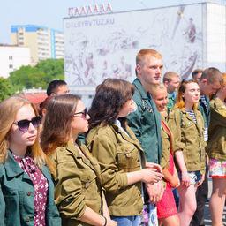 Студенческий отряд «Голубой меридиан» отправился на юбилейную – 55-ю – путину. Фото пресс-службы Дальрыбвтуза