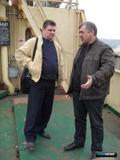 Посещение модернизируемых судов представителями «Альфа Лаваль»