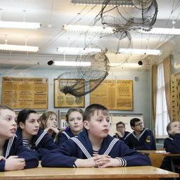 Ученики морского класса школы № 1 города Полярный посетили ММРК им. И.И. Месяцева