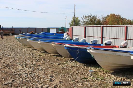 К закрытию путины основная часть собственного флота компании «ДВ-Фиш» уже «припаркована» на берегу