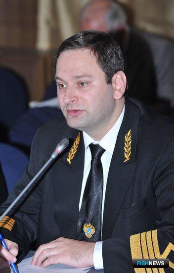 Начальник Управления правового обеспечения Росрыболовства Евгений КАЦ