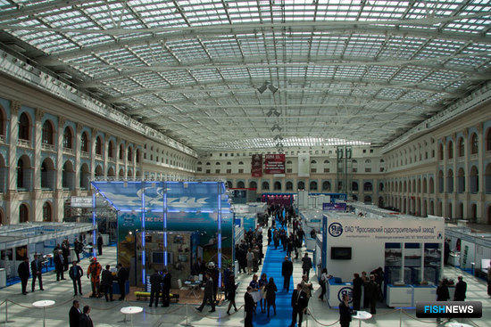 II Международный форум «Морская индустрия России-2011». Москва, май 2011 г.