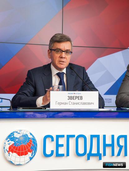 Президент Всероссийской ассоциации рыбохозяйственных предприятий Герман ЗВЕРЕВ
