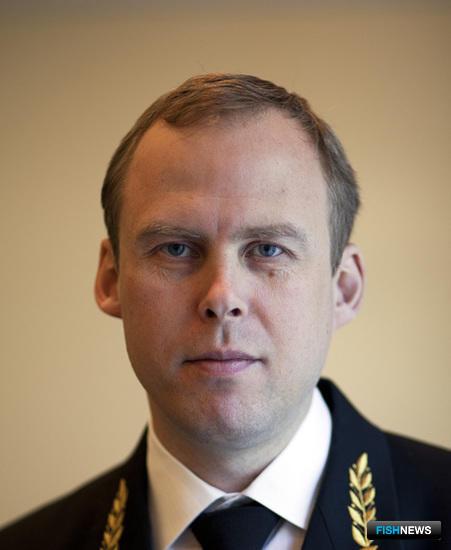 Заместитель руководителя Федерального агентства по рыболовству Василий СОКОЛОВ