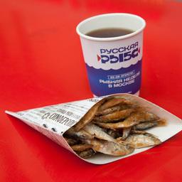 Крымская рыба не только отлично продавалась, но и хорошо запоминалась благодаря оригинальной упаковке