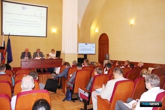 Отраслевые институты обсудили планы экспедиций