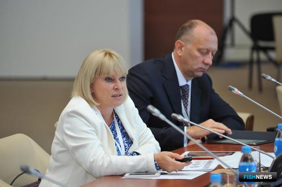 Заместитель председателя Дальневосточного банка Сбербанка России Марина ПЕРЕБЕЙНУС