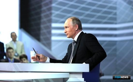 Президент Владимир ПУТИН. Фото пресс-службы главы государства