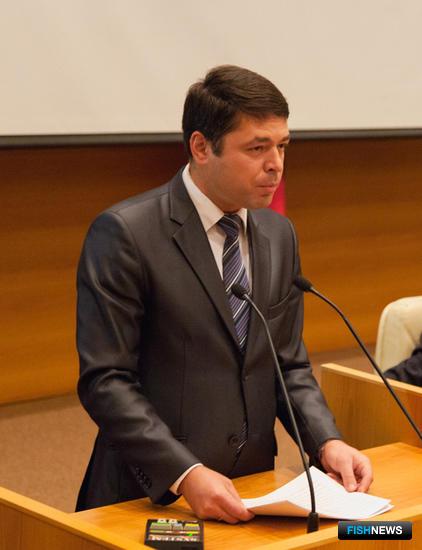 Генеральный директор ОАО «Русское море – Аквакультура» Юрий КИТАШИН