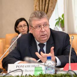 Президент Ассоциации «Рыбопромышленный холдинг Карат» Владимир РОМАНЕНКО