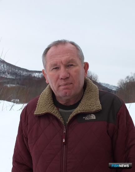 Директор ЛРЗ «Лазовой» и заместитель директора по воспроизводству ЛРЗ «Туровка» Сергей КАВЕРЗИН
