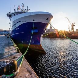Траулер «Печора». Фото пресс-службы правительства Мурманской области
