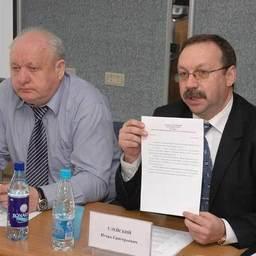 Александр ПЛАТОНОВ и Игорь УЛЕЙСКИЙ