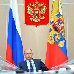 Президент России Владимир ПУТИН на заседании президиума Госсовета