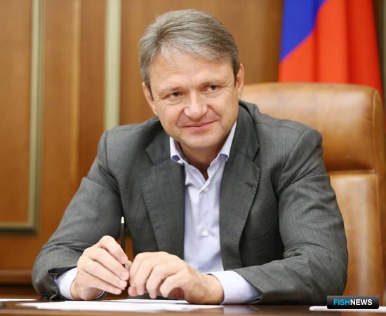 Глава Минсельхоза Александр ТКАЧЕВ. Фото пресс-службы ведомства