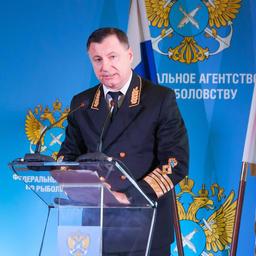Заместитель руководителя Росрыболовства Петр САВЧУК на заседании коллегии ведомства