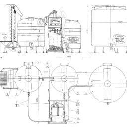 Установка холодного приготовления тузлука - УХПТ-2000