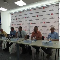 Во Владивостоке прошла пресс-конференция, посвященная добыче сардины-иваси