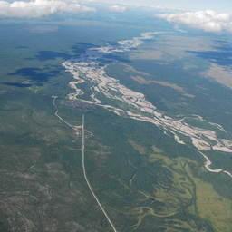 Бассейн реки Ола. Фото пресс-службы МагаданНИРО